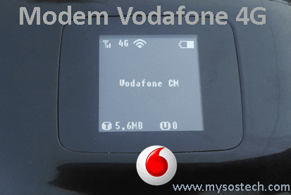 modem vodafone 4g install usb unlock / flash drivers - My