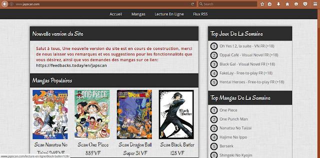 Regarder et lire vos mangas , animé et scan En ligne