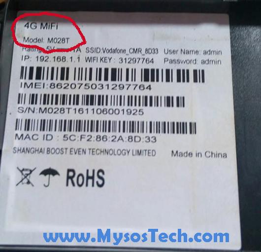 Debloquer modem vodafone M028T l02C wifi ZTE unlock desimlocker - My