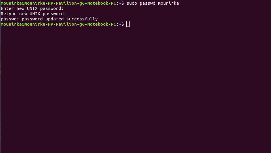 Comment changer le mot de passe oublier windows ou linux 5