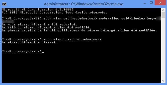 Comment créer un point d'accès wifi avec Windows 4
