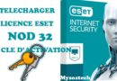 licence eset Nod 32 telecharger cle d'activation