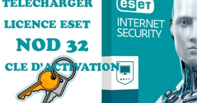 LICENCE ESET NOD 32 CLE ACTIVATION