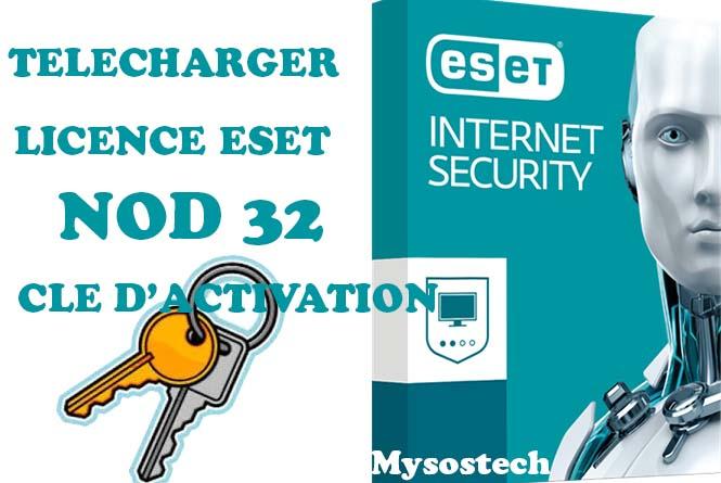 cle activation eset internet security 10