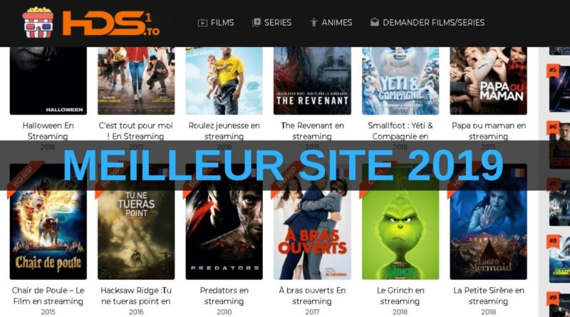 meilleurs sites de streaming